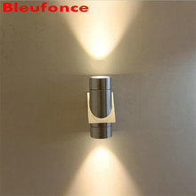 Wall Light Led Aluminum Wall Lamp Waterproof IP65  Up and Down Porch Light 6w Garden Lights AC85-265V LED Source   NB307