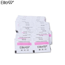 Elite99 50pcs Gel Polish Remover Wraps Pads Manicure Tools Wet Wipes Paper Pads Foil Nail Art Cleaner for UV Gel(China)