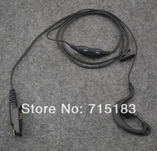 G-hook Earpiece Handsfree Earphone Headset with PTT & VOX for Motorola GP344 GP388 GP328Plus GL200 EX500 EX600XLS GP338Plus