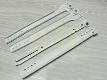 10'' Furniture Hardware Drawer Slider Track New Rail Cabinet Slide Rail Ordinary Muffler(China)