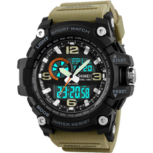 Buy SKMEI Brand Men Sport Watches Quartz Analog Digital Watch Military Outdoor Wristwatches Waterproof Electronic Relogio Masculino for $10.99 in AliExpress store