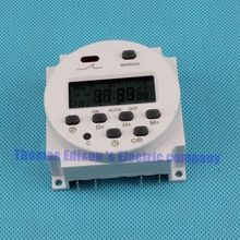 Digital time switching time controller CN101A DHC15 THC-101A  Weekly programmable electronic timer Timer DC 24V 8A TO 16A