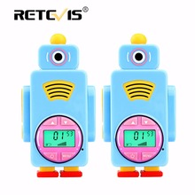 2pcs Retevis RT36 PMR/FRS Walkie Talkie Mini Kids Radio 0.5W 8/14CH VOX PTT Flashlight Micro USB Charge Children 2 Way Radio Set