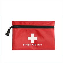 Good Quality 15*10cm Portable New Mini Car First Aid kits Medical Box Emergency nylon Survival kits Wholesale(China)
