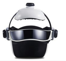 Head relax Massage Helmet -Head Massager Electric Eye neck massager Pain Relief Relaxing Acupuncture massager Apparatus