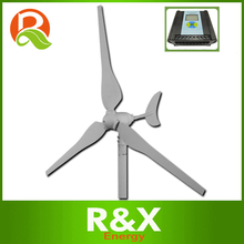 Horizontal wind turbine generator 50w hyacinth wind generator. Combine with wind/solar hybrid controller(LCD display).