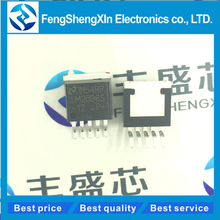 5pcs/lot   LM2596S-12  LM2596S   TO-263  12V   SIMPLE SWITCHER Power Converter 150 kHz 3A Step-Down Voltage Regulator