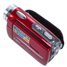 3.0 INCH Portable 20MP 1080P 16x Zoom Digital Video Camera Electronic Anti-Shaking Camcorder DV Red/Black