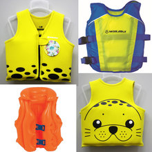 Kids Begin to Swim Class Swim Vest Basic Life Jacket for Baby, Child, Neoprene  Printed Swimming, Flotation  w/ Safety Strap