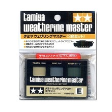 OHS Tamiya 87098 Model Weathering Master Type E Yellow Gray Green Dry-Brush Effect Hobby Model Supply Material(China)