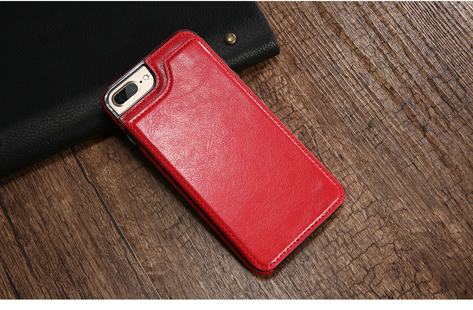 FLOVEME Luxury Wallet Case For iPhone 6 6S Bracket Type Leather Card Holder Kickstand Flip Back Cover For iPhone 7 7 Plus 6 Plus_12
