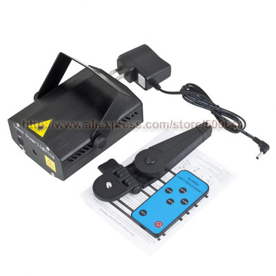 Mini Remote Control Laser Stage Lighting Projector &amp; 10PCS/Lot DHL/UPS/FEDEX/EMS Free Shipping<br><br>Aliexpress