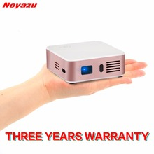 Noyazu Mini Projector  Android 4.4 WIFI Bluetooth HD LED DLP Multimedia Projectors Home cinema Theater Media Player Beamer