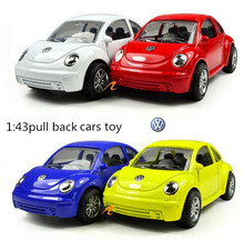 Classic toys! 1:43pull back high-quality metal model cars toy, kids best gift, worth buying, free shipping