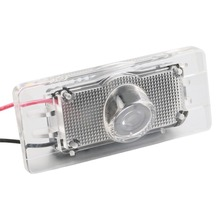 ICOCO 1 pcs CANBUS Car LED License Plate Projection Laser Lamp for Audi A4 A6 Q3 Q5 S6 White Red Blue Green New(China)