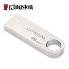 Kingston Mini USB 2.0 Memory Stick 8GB 16GB 32GB 64GB USB Flash Drive Mental Silver Ring Pen Drive Memoria Stick Hard Disk DTSE9