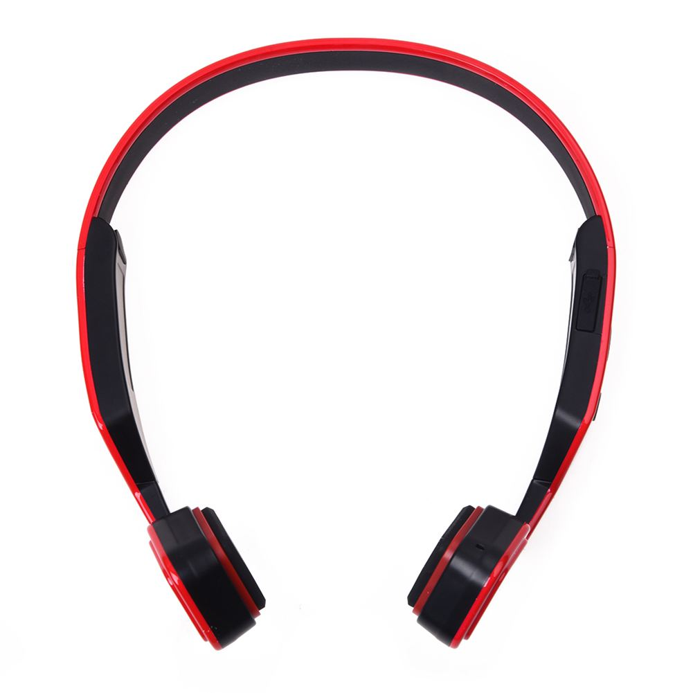 Wireless Bluetooth 4.0 Bone Conduction Headphone Headset Built-in Mic Hands-free<br>