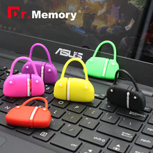 Dr.Memory USB 2.0 Flash Drive Cartoon Handbag Pendrive U Disk 32/16/8/4 GB Memory Stick High Speed 100% Real Capacity Pen Drive(China)