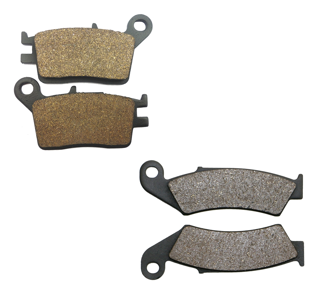 Brake Shoe Pads set HONDA AX1 AX-1 250 89 90 91 92 93 94 1989 1990 1991 1992 1993 1994 / CRM250 250 CRM, MD24 1988 1990