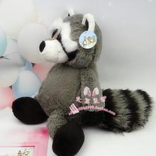 stuffed animal plush 35cm-45cm cute raccoon plush toy birthday gift w822(China)