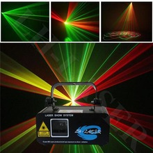 650nm red & green beam moving head laser light bar,dmx stage night club lighting for show