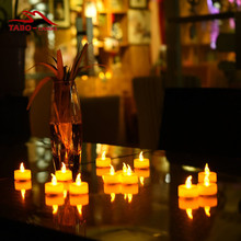Fake Tealights Candles Bright Battery Operated LED Tea Light Candles for Wedding Party Christmas Decoration
