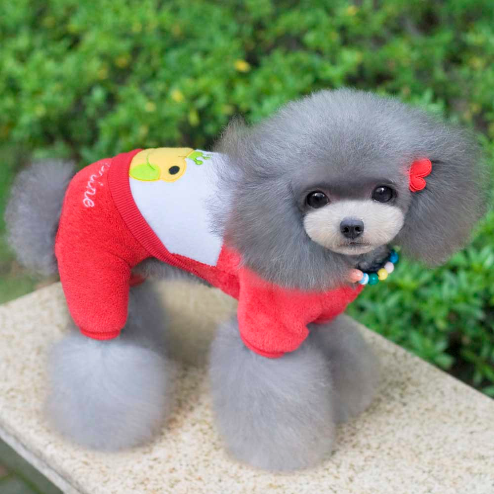Cute Dog Clothes Warm Pet Coat Outfit Dog Puppy Costume Dog Clothes Small Dogs Flog Prince Jacket Clothing XS-XXL