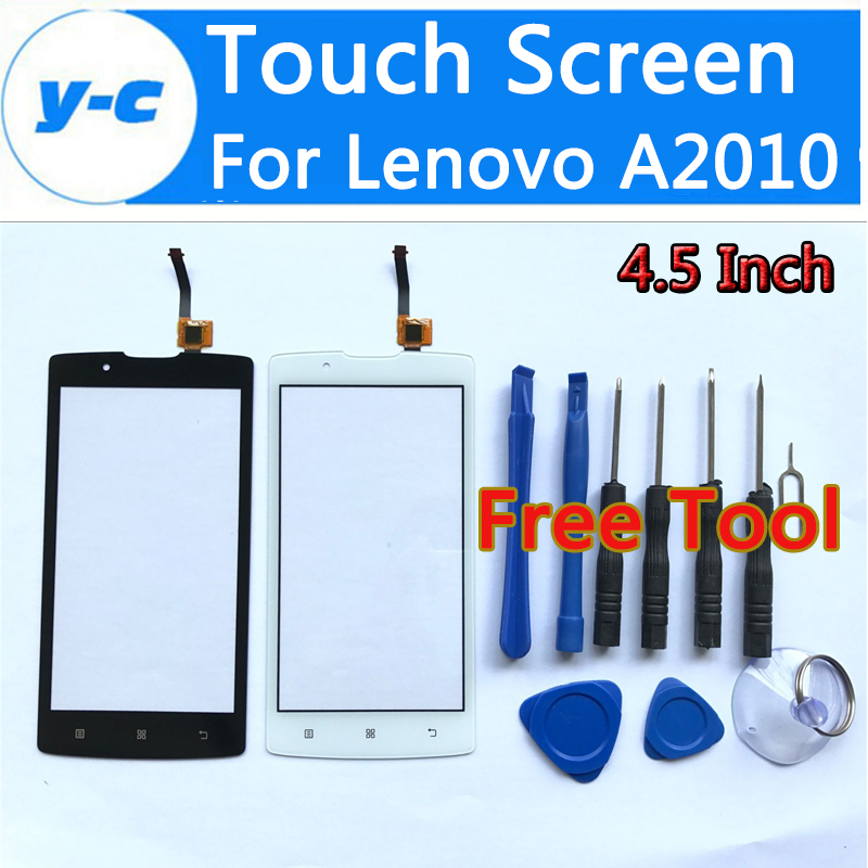 For Lenovo A2010 Touch Screen 100% New AAA Quality  Digitizer Front Glass Panel Replacement For For Lenovo A2010 4.5 Inch<br><br>Aliexpress