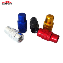 ZATOOTO (500 pieces /lot ) Wholesale Bicycle Road Mountain Bike Rocket-like Valve Mouth Cover Tyre Dust Cap for Presta Valve(China)