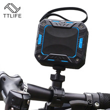 TTLIFE M2 Bicycle Speaker Bluetooth 4.1 Waterproof IP65 Mini Portable Super Stereo Bass Speaker for Rider Car 2000mAh 5W AUX