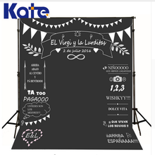 Kate Custom Wedding Blackboard Name Date Photocall Kate Photography Studio Wedding Background Photo Backdrop Invite Signature