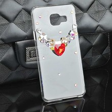 Diy Fashion Rhinestone Case for Samsung Galaxy A3 A5 2017 Diamond Luxury Bling Cases for Galaxy A3 A5 2015 2016 Cell Phone Cover