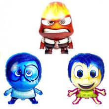 inside out cartoon foil balloon birthday Party Supplies Decoration kids toy balloons
