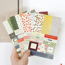 DIY Colorful Romantic print kawaii Stickers Diary Planner Journal Note Diary Paper Scrapbooking Albums PhotoTag