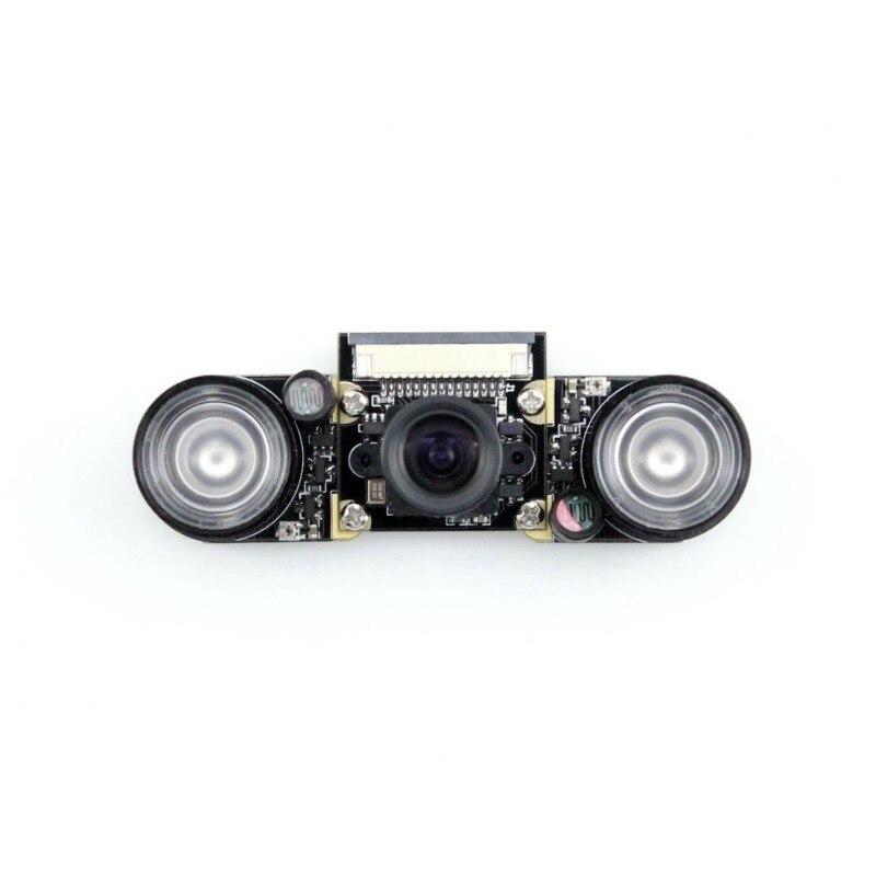 module Waveshare Raspberry Pi 3 B Camera module Kit F # 5 MP 1080p OV5647 Night Vision Webcam Camera Kit Adjustable Focal Fishey<br><br>Aliexpress