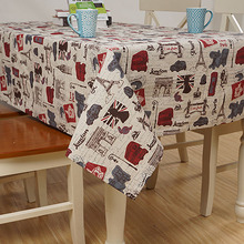 Linen Table Cloth Europe London Home/Outdoor/Party Toalha De Mesa Manteles Para Mesa Nappe De Table Tablecloth Table Cover