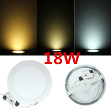 No cut ceiling 6W 12W 18W surface mounted LED ceiling lamp 4000K round  LED panel downlights  AC85-265V+ drive
