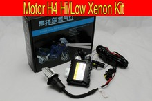 Free Shipping Hot SALE 35W H4 Hi/low bi xenon Motorcycle HID Xenon Kit,3000K,4300K,6000K,8000K,10000K,HID Conversion Kit
