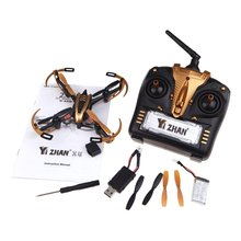 EBOYU(TM) Yizhan X4 4CH 2.4G 6 Axis Radio Control Quadcopter Model Toys UFO 3D Flying Saucer Transmitter RTF(China)