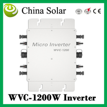 Micro PV Inverter On Grid Inverter Output 1200W Solar micro inverter solar panel inverter 1200W