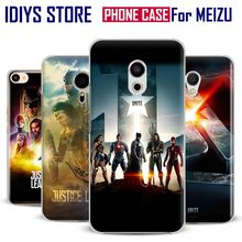For MEIZU Meilan M3 M3S M3e M5 M3Note M5Note MX6 M3X U20 PRO5 PRO6 PRO6S Justice League Unite 2017 Movie Phone Case Cover Shell