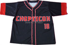 Full Button Baseball Jerseys With Custom Team names numbers