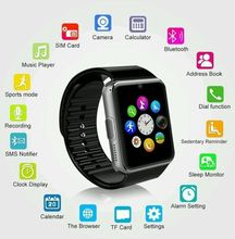 Sim Smart Watch plug TF Card Cam Touch Screen Phone Passometer Fitness Message Remind Smartwatch wearable for iPhone for Anroid