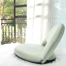 SUFEILE Creative adjustable folding chair Chaise Lounge simple furniture lazy sofa chair balcony bay window recliner W5D20