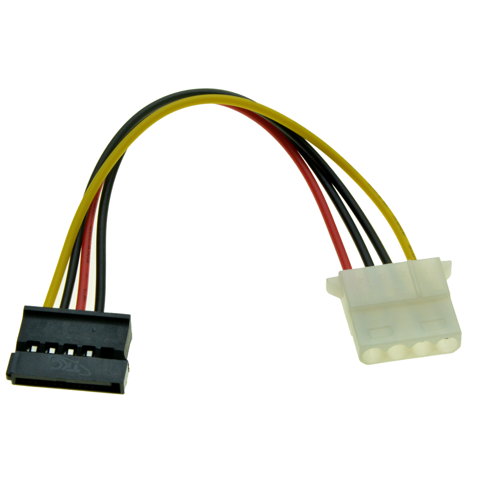 """12/"""" SATA 15-Pin Male to Female Power Extension Cable for PC Computer SSD//HDD"""
