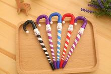 1 Piece Lytwtw's Korean Stationery Cute Cartoon Christmas Snowman Umbrella Ballpoint Pens Student School Supply 4 Colors
