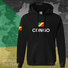 Congo Republic hoodie men sweatshirt sweat suit hip hop streetwear tracksuit nation footballer sporting country COG Congolese