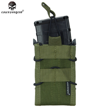 Hunting Airsoft MAG Single Magazine Pouch military army MOLLE Emersongear EM6345 khaki brown black