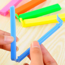 3PCS New Kitchen Storage Food Snack Seal Sealing Bag Clips Clamp Plastic Tool