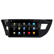 NaviTopia Brand New 10.1inch Quad Core Android 6.0 Car PC For Toyota Levin(2014) Steering Car Audio Player With GPS Navigation
